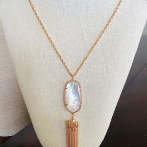 Long Kendra Scott necklace